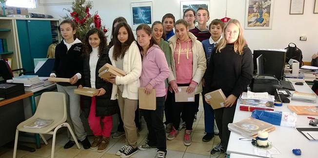 Βράβευση video των μαθητών της Β΄ Γυμνασίου Μεσοβούνιων.