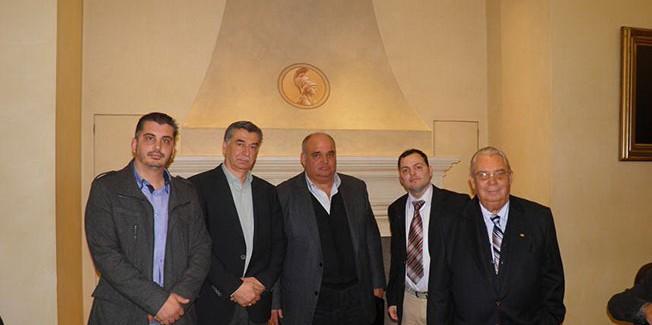 Παγκεφαλληνιακή σύσκεψη των σωματείων της Αττικής για βοήθεια στους σεισμόπληκτους συμπατριώτες μας.