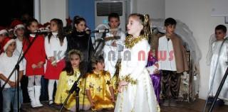 Όμορφη Χριστουγεννιάτικη γιορτή στο Β' Δημοτικό Σχολείο Ληξουρίου.