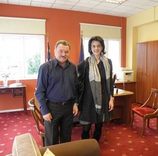Συνάντηση με τους δυο νέους Βουλευτές στην Κέρκυρα.