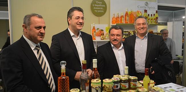 Επιτυχημένη η συμμετοχή της ΠΙΝ στη διεθνή έκθεση τροφίμων και ποτών DETROP