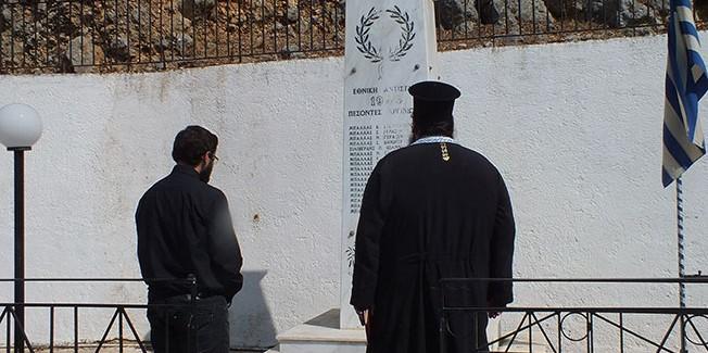 Στα Αργίνια μνημόσυνο των κατοίκων  του χωριού που εκτελέστηκαν