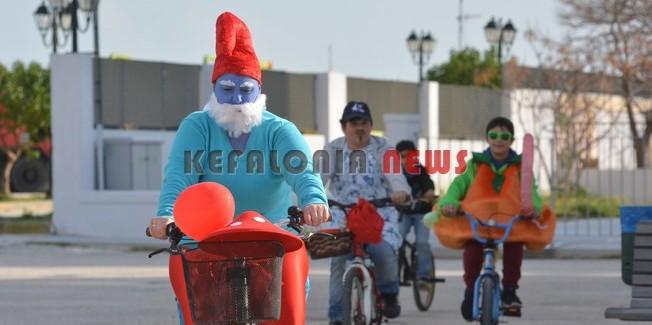 Καρναβαλική ποδηλατάδα, μικρών και  μεγάλων