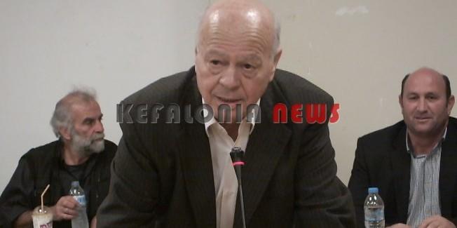 Νέος πρόεδρος του Δημ. Συμβουλίου ο  Γερ. Αλυσανδράτος