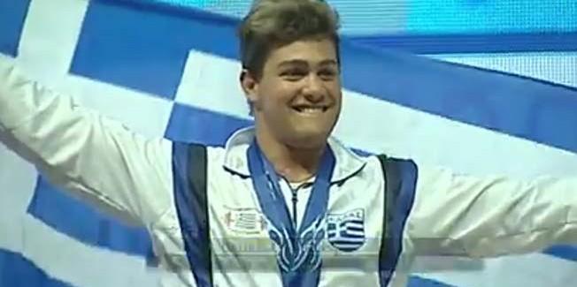 Ο Γερ. Γαλιατσάτος στους Ολυμπιακούς Νέων στην Αργεντινή.