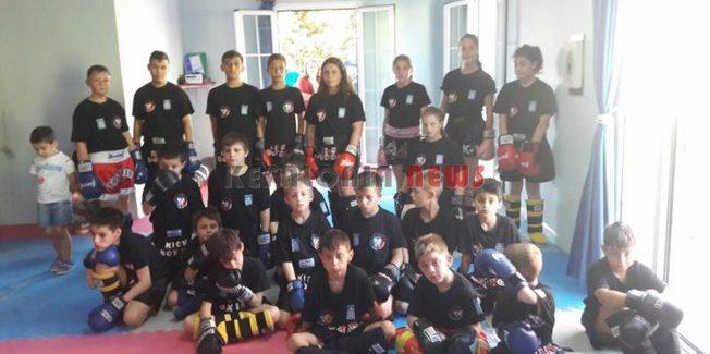 Αγώνες και εξετάσεις για ζώνες kick boxing στο Ληξούρι
