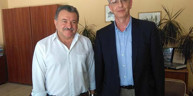 Συνάντηση του Περιφερειάρχη με τον  Γραμματέα της ΚΕ του ΣΥΡΙΖΑ