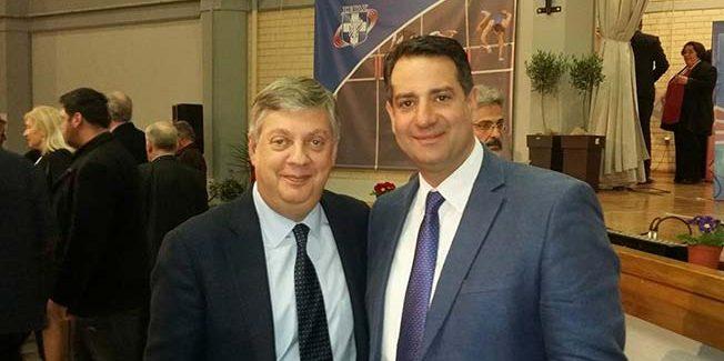 Ετήσια γιορτή βραβεύσεων του ΣΕΓΑΣ.   Βραβεύτηκε ο Πρόεδρος της Κ.Ε.ΔΗ.ΚΕ Άγγελος Κωνσταντάκης.