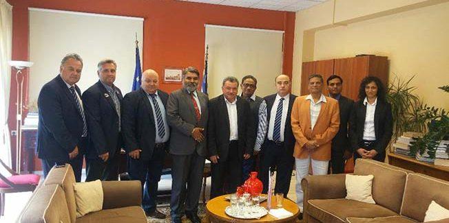 Συνάντηση του Περιφερειάρχη Ιονίων Νήσων με Ινδούς  επιχειρηματίες