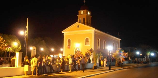 Υπόσχεση Δημάρχου για βάψιμο της εκκλησίας στον Καραβόμυλο.