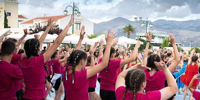 """Σήμερα στα Φραγκάτα το 30ο Kefalonia Gym Festival """"Anna Pollatou"""""""