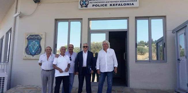 Συνάντηση του Συνδέσμου Αποστράτων Σωμάτων Ασφαλείας Κεφαλλονιάς και Ιθάκης