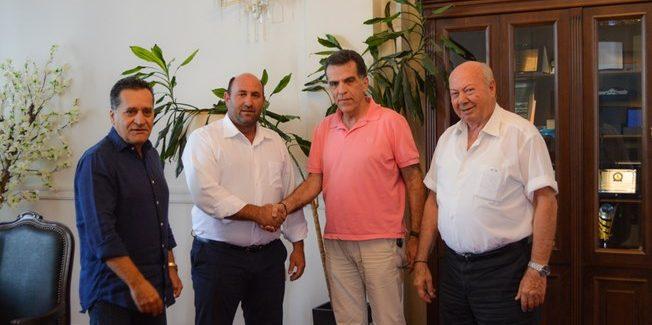 Υπογραφή σύμβασης για το έργο  «Αξιοποίηση Λιμενικής Ζώνης Κυανής Ακτής»