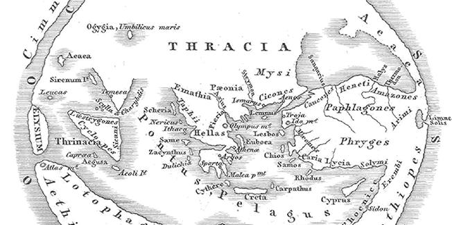 Η σύγκριση της Ομηρικής (προϊστορικής) τοπογραφίας με την τοπογραφία των ιστορικών χρόνων στην λεκάνη της Μεσογείου, ταυτίσεις και διαφορές