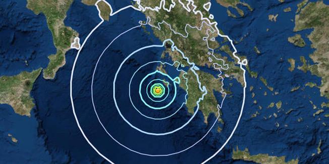 Μικρή σεισμική δόνηση 2,4R Ανατολικά του Αργοστολίου.