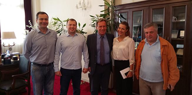 Την Κεφαλονιά επισκέφθηκε πρόσφατα αντιπροσωπεία του Δήμου του Βόσδοβατς Βελιγραδίου