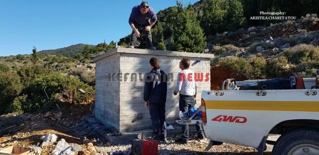 Δεξαμενή νερού έφτιαξε η ΔΕΥΑΚ στα Κηπούρια