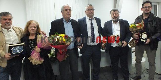 Δόθηκαν τα επιχειρηματικά βραβεία σε  πρώην προέδρους του Επιμελητηρίου.