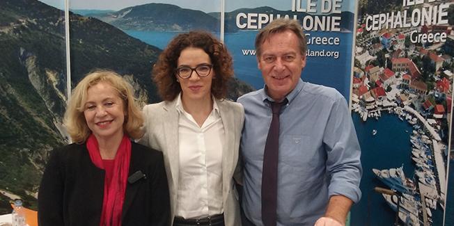 Επιτυχής παρουσίαση του Δήμου Κεφαλονιάς στη Διεθνή  Έκθεση Τουρισμού της Γαλλίας.