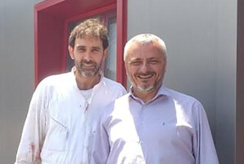 Ο υποψήφιος βουλευτής του ΣΥΡΙΖΑ κ. Αριστοτέλης Μπατιστάτος επισκέφθηκε  το σφαγείο Σταμούλη.