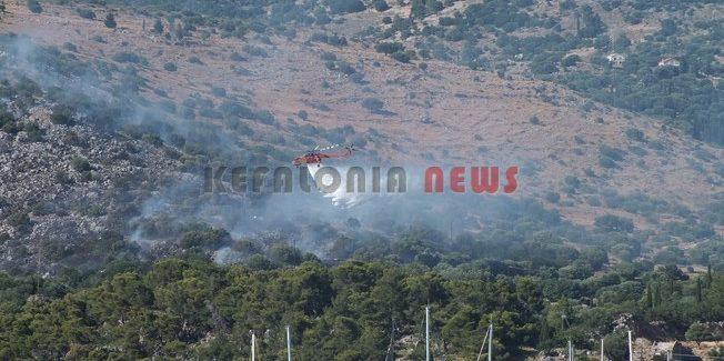 Πυρκαγιά σε Λαγκάδα και Προκοπάτα.