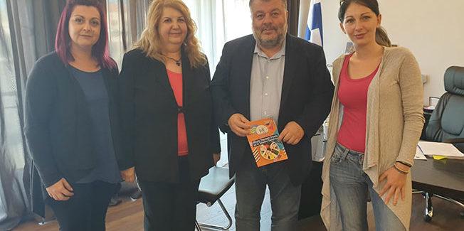 Συνάντηση Συλλόγου Τρίτεκνων και ομοσπονδίας τρίτεκνων με τον κ. Θεοφιλο Μιχαλατο