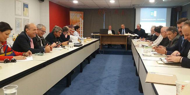 Στα Γραφεία της ΕΕΤΑΑ συνεδρίασε το νεοεκλεγέν Δ.Σ.  της ΠΕΔ-ΙΝ