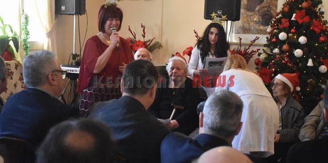 Ευχαριστίες για την Χριστουγεννιάτικη γιορτή του γηροκομείου