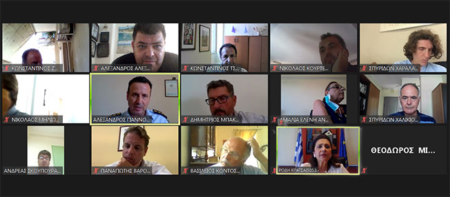 Eυρεία σύσκεψη φορέων  αναφορικά με τον αριθμό κρουσμάτων κορωνοϊού στην Κέρκυρα