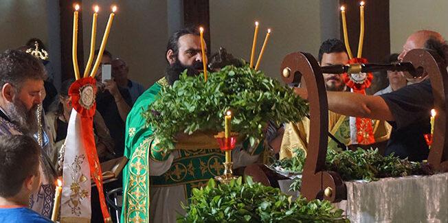 Εορτάσθηκε η Ύψωση του Τιμίου Σταυρού στην ιερά Μονή Κηπουραίων.