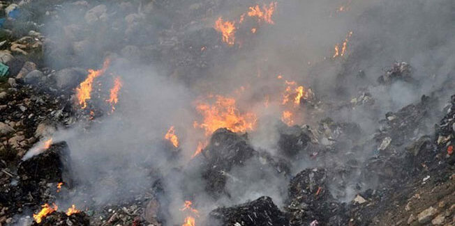 Το θέμα της πυρκαγιάς στο ΧΥΤΥ στο Δημοτικό Συμβούλιο