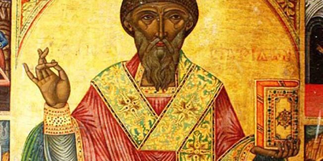 Δυο  κεφαλονίτικες εικόνες για τον Άγιο Σπυρίδωνα