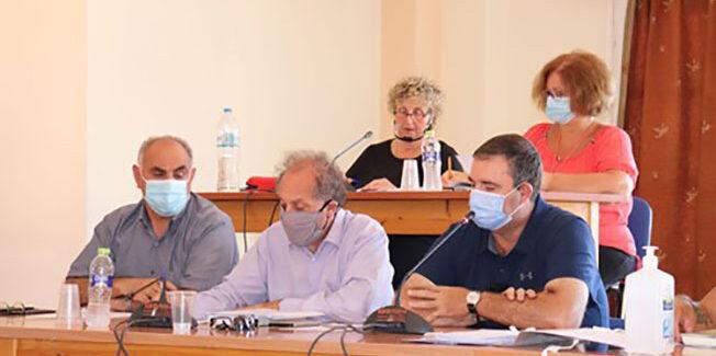 Η τελευταία συνεδρίαση για το έτος 2020, του Δημοτικού Συμβουλίου  του Δήμου Ληξουρίου.