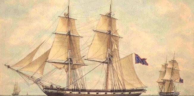 Ναυάγιο τουρκικής κορβέτας στην Ιθάκη στις 10 Δεκεμβρίου 1823 …..