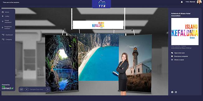 Συμμετοχή της Κεφαλονιάς στην διαδικτυακή έκθεση τουρισμού TTR  στην Ρουμανία .