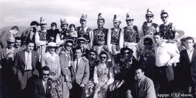 Ο παλιός Χορευτικός Σύλλογος Καμιναράτων