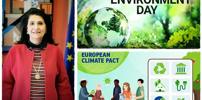 Πρεσβευτής του Ευρωπαϊκού Συμφώνου για το Κλίμα η τ. Αντιπρόεδρος του Ευρωπαϊκού Κοινοβουλίου, Ρόδη Κράτσα