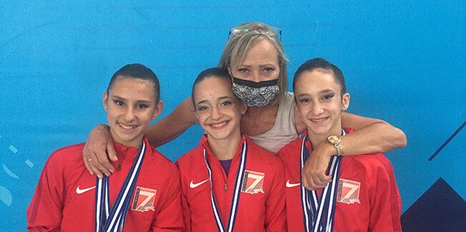 Χρυσά τα κορίτσια του ΑΓΣ ΕΠΤΑΝΗΣΩΝ στους Περιφερειακούς Αγώνες