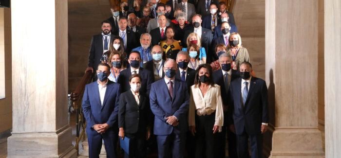 Έναρξη της 13ης Γενικής Συνέλευσης της Παγκόσμιας Διακοινοβουλευτικής Ένωσης Ελληνισμού