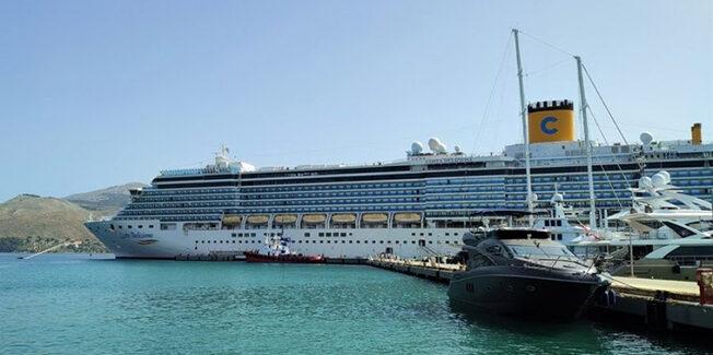Στο Αργοστόλι σήμερα το Κρουαζιερόπλοιο Costa Deliziosa