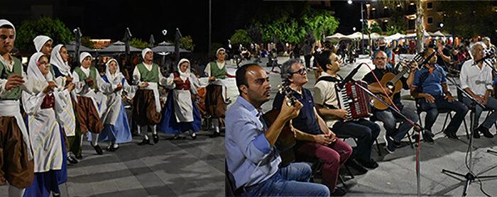 Παραδοσιακοί Χοροί και Καντάδες στην Πλατεία Αργοστολίου