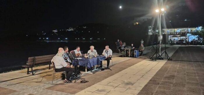 Μια μαγική βραδιά με Κεφαλονίτες κανταδόρους χτες στον Πόρο!