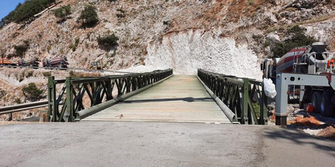 Άνοιξε η  στρατιωτική γέφυρα στο Χειμωνικό