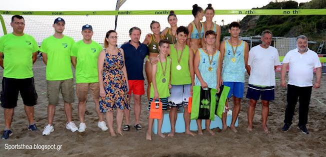 Με εντυπωσιακούς τελικούς έπεσε με απόλυτη επιτυχία η  αυλαία του  Beach Volley στον Αη Χέλη