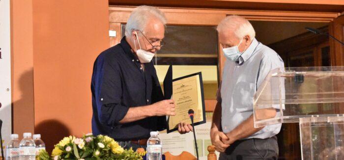 Πραγματοποιήθηκε σε συγκινητική ατμόσφαιρα  η εκδήλωση της βράβευσης του Πέτρου Πετράτου