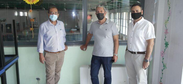 """Ο Αντιδ. κ. Γιώργος Τσιλιμιδός και ο Πρόεδρος του """"Ριφόρτσο"""" επισκέφθηκαν τον Δήμαρχο Βύρωνα"""