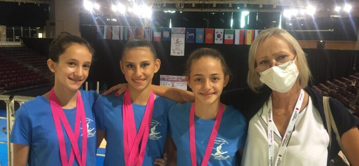 6 μετάλλια για τον Α.Γ.Σ. Επτανήσων στο διεθνές τουρνουά Ρυθμικής Γυμναστικής Aphrodite Cup