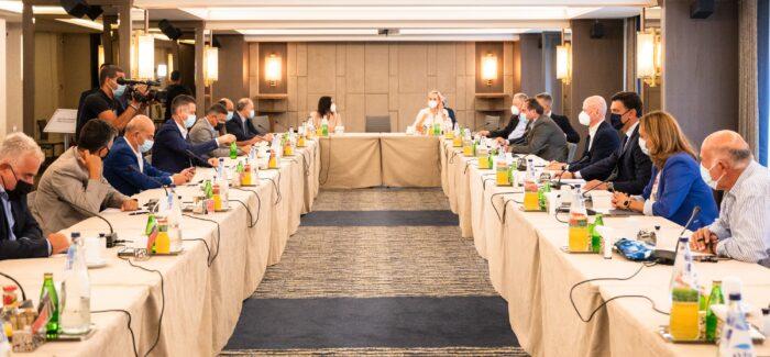 Συνάντηση Εργασίας προεδρείου ΣΕΤΕ και εκπροσώπων των  πανελληνίων κλαδικών Ενώσεων…….